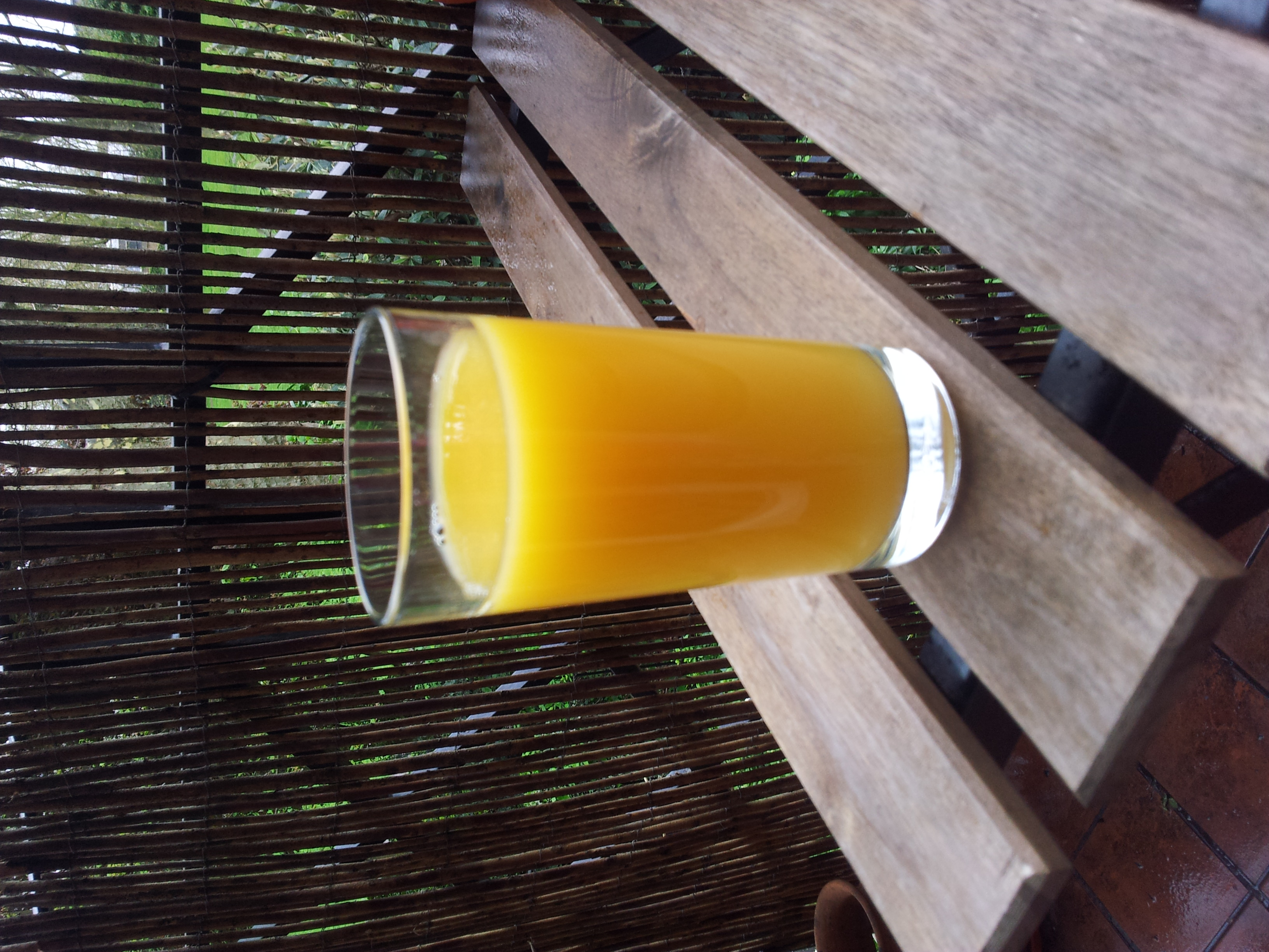 200 mls Fresh Orange Juice